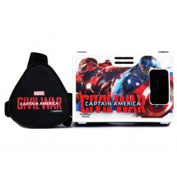 Official Marvel Civil War (Captain America/Iron Man),Faith Defenders Plastic Virtual Reality Viewer Inspired by Google Cardboard