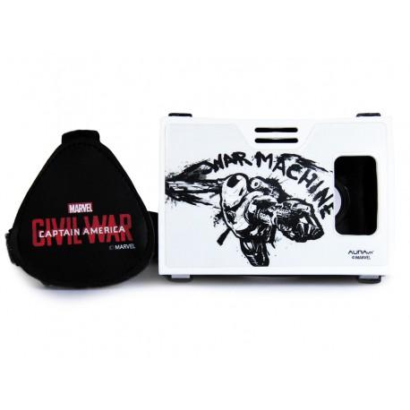 Official Marvel Civil War(War Machine),War Machine Armor Plastic Virtual Reality Viewer Headset Inspired by Google Cardboard