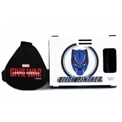Official Marvel Civil War(Black Panther),Mystery Member Plastic Virtual Reality Viewer Headset Inspired by Google Cardboard