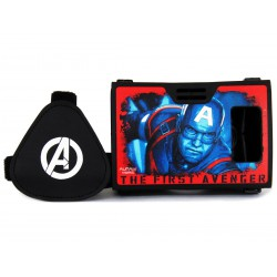 Official Marvel Avengers(Captain America)The First Avenger Plastic VR Headset Inspired by Google Cardboard