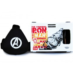Official Marvel Avengers(Iron Man)The Armored Man Plastic Virtual Reality Viewer Headset Inspired by Google Cardboard