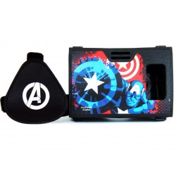 Official Marvel Avengers(Captain America)War Soldier Plastic 6 inch Virtual Reality Viewer Inspired by Google Cardboard