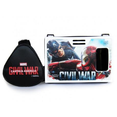 Official Civil War(Captain America/Iron Man)Super Soldier Vs Golden Avenger Plastic VR Headset Inspired by Google Cardboard