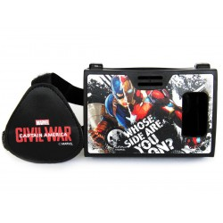 Official Marvel Civil War(Captain America/Iron Man)Battle Of Legends Plastic Virtual Reality Viewer Inspired by Google Cardboard